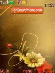Flower S40 theme screenshot