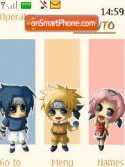 Naruto Cute es el tema de pantalla