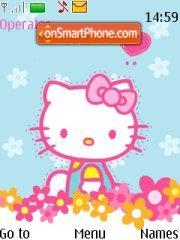 Скриншот темы Hello Kitty 25