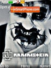 Rammstein Promo theme screenshot