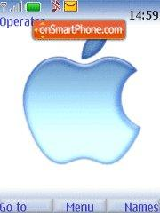Apple Macintosh Blue theme screenshot