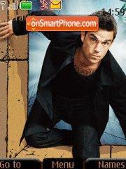 Robbie Williams es el tema de pantalla