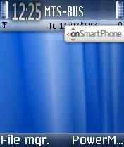 Win Vista Blue OS7 theme screenshot