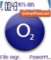 O2 Logo theme screenshot