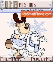 Happy Winter theme screenshot