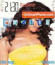Priyanka Chopra 03 theme screenshot