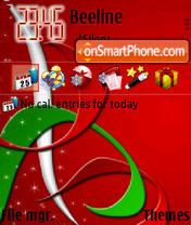 Christmas 2012 theme screenshot