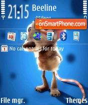 Скриншот темы Mouse 05