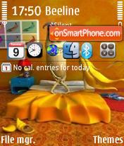 Shy Banana theme screenshot