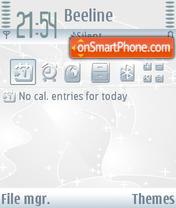WinterB theme screenshot