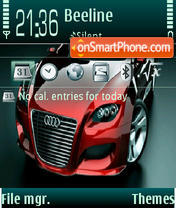 Audi by dj Mendoff theme screenshot