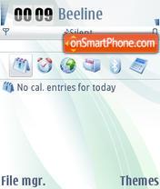 Скриншот темы Carbide