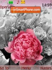 Pinc Flora By Iris es el tema de pantalla