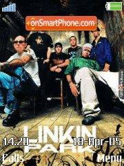 Linkin Park theme screenshot
