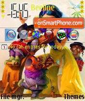 Snow White and the Seven Dwarfs es el tema de pantalla