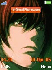 Light Yagami es el tema de pantalla