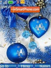 Christmas theme screenshot