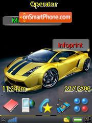 Lamborghini es el tema de pantalla