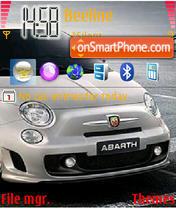 Скриншот темы Abarth