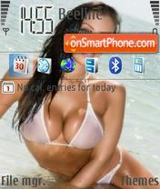 Скриншот темы BeachBabe