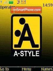 A-Style es el tema de pantalla