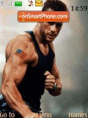 Скриншот темы Jean Claude Van Damme