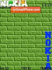 Скриншот темы Abstract Nokia