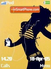 Скриншот темы iPod