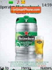 Heineken Beer theme screenshot