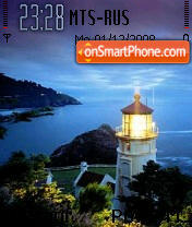 Lighthouse tema screenshot