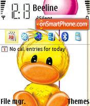Скриншот темы Zippy