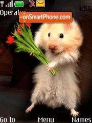 Hamster with Tulips es el tema de pantalla