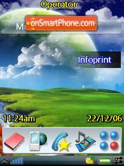 Abstrakt Green theme screenshot