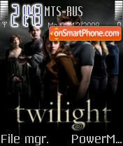 Twilight 02 theme screenshot