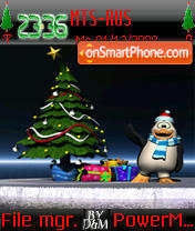 Christmas 2013 theme screenshot