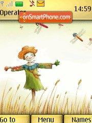 Autumn Scarecrow theme screenshot