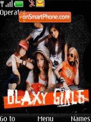 Blaxy Girls theme screenshot