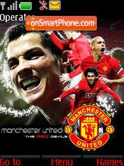Go Man Utd es el tema de pantalla