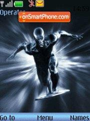 Silver Surfer theme screenshot