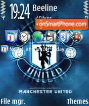 Man United 01 theme screenshot