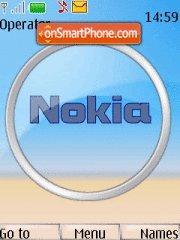 Nokia Orb theme screenshot