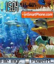 Under the Sea theme screenshot