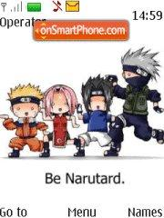 Narutard theme screenshot