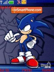 Скриншот темы Sonic 08