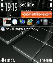 Скриншот темы Digitiles New