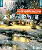 Скриншот темы Animated Snow 01