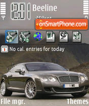 Bentley Gt Speed Theme-Screenshot