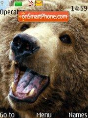 Brown bear tema screenshot