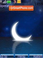 Blue Moon 01 theme screenshot