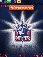 New York Rangers 01 theme screenshot